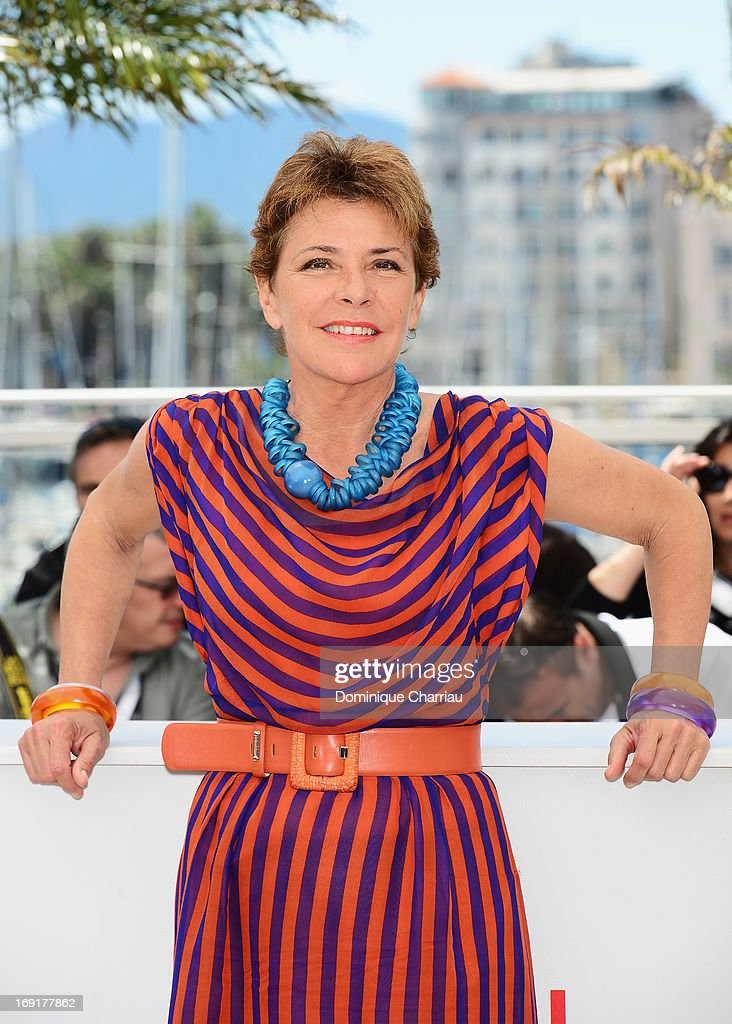 Pamela Villoresi attends the photocall for 'La Grande Bellezza' (The Great Beauty) during the 66th Annual Cannes Film Festival at Palais des Festivals on May 21, 2013 in Cannes, France.