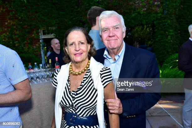 Pamela Walker and Daniel Storey attend Maison Gerard Presents Marino di Teana A Lifetime of Passion and Expression at Michael Bruno and Alexander...