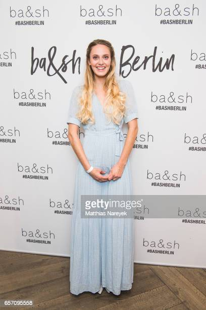Pamina Weiss attends the BaSh store opening on March 23 2017 in Berlin Germany