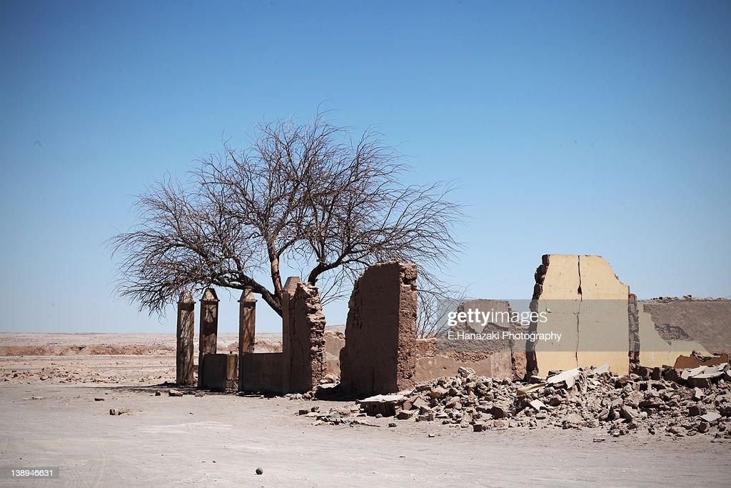 Pampa Union ruins