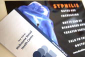 Pamphlets and material regarding syphilis are displayed in the Melbourne Sexual Health Centre in Melbourne Australia on Tuesday Aug 14 2007 Syphilis...