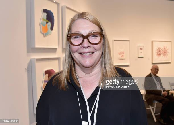 Pan Paulson attends the IFPDA Fine Art Print Fair Opening Preview at The Jacob K Javits Convention Center on October 25 2017 in New York City
