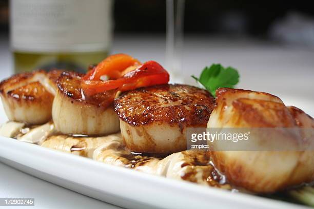 Pan Seared Scallops 3