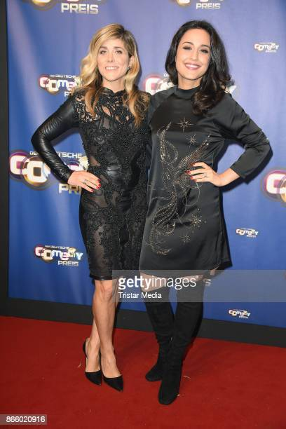 Panagiota Petridou and Nina Moghaddam attend the German Comedy Awards at Studio in Koeln Muehlheim on October 24 2017 in Cologne Germany