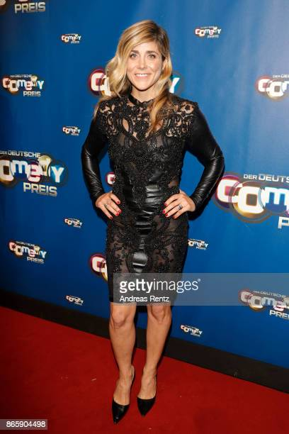 Panagiota Petridou attends the 21st Annual German Comedy Awards at Studio in Koeln Muehlheim on October 24 2017 in Cologne Germany