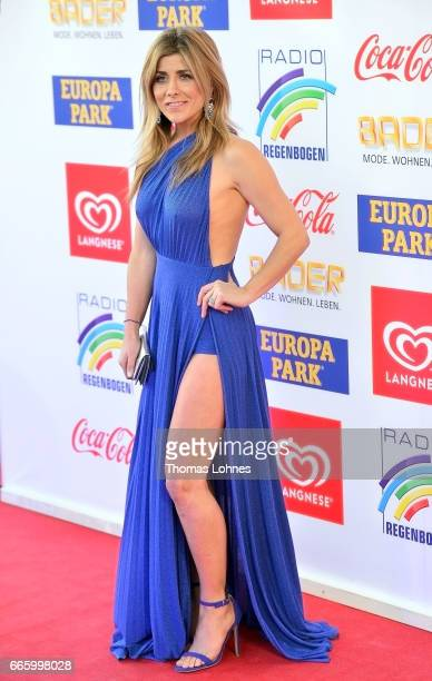 Panagiota Petridou attends the Radio Regenbogen Award 2017 at Europapark on April 7 2017 in Rust Germany