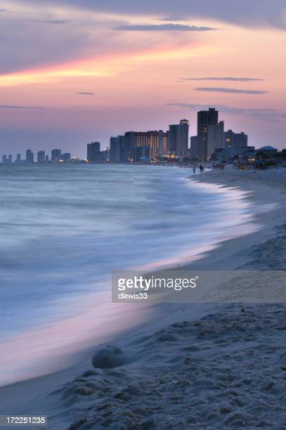 Panama City Beach at Dusk