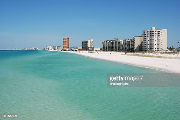 Panama City Beach Florida Resort Skyline