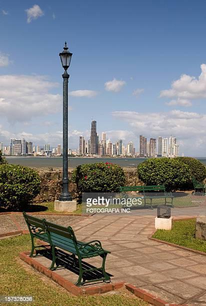 Vista a la ciudad de Panamá