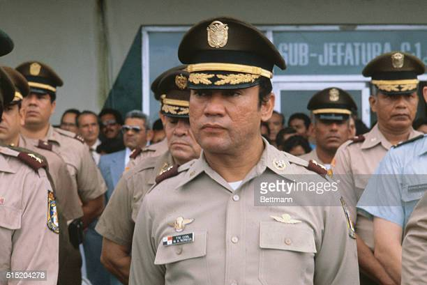 Photo of Col Manuel A Noriega the Panama National Guard Chief of Staff of Panama Intelligence