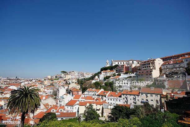 Panaroma City View, Lisbon, Portugal