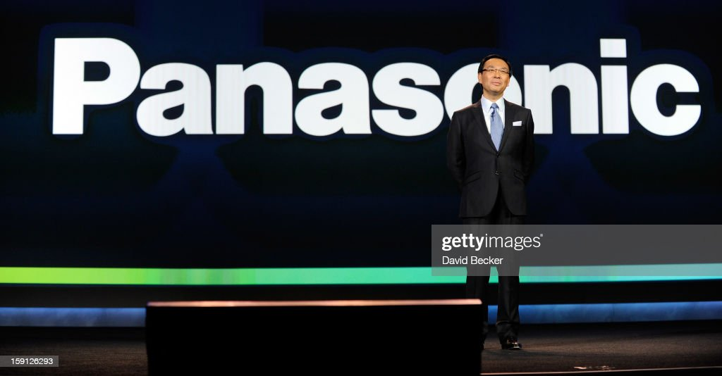 Panasonic Corporation President and CEO Kazuhiro Tsuga speaks during a keynote address at the 2013 International CES at The Venetian on January 8, 2013 in Las Vegas, Nevada. CES, the world's largest annual consumer technology trade show, runs through January 11 and is expected to feature 3,100 exhibitors showing off their latest products and services to about 150,000 attendees.