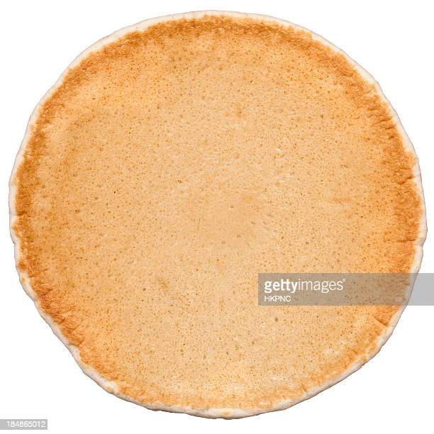 Pancake, Good Enough To Eat! Isolated On White, Clipping Path