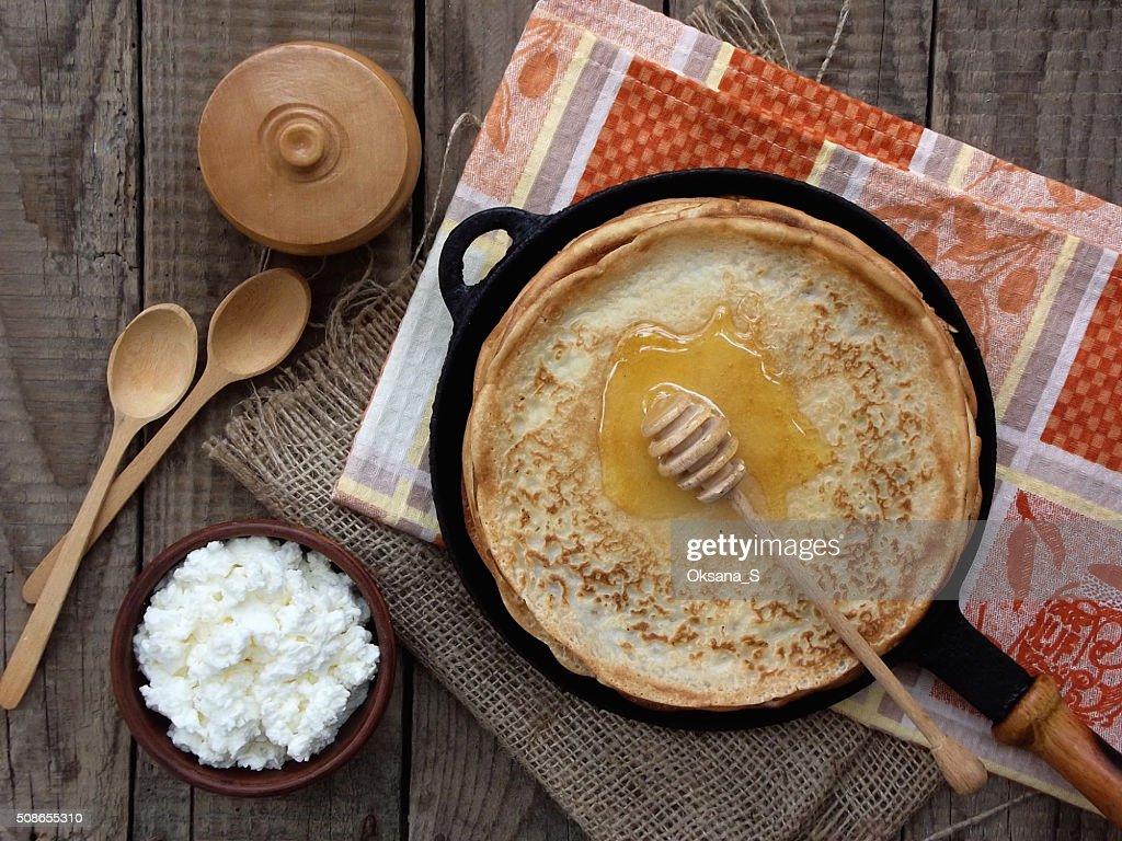 pancake : Stock Photo