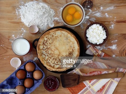 pancake : Stock Photo