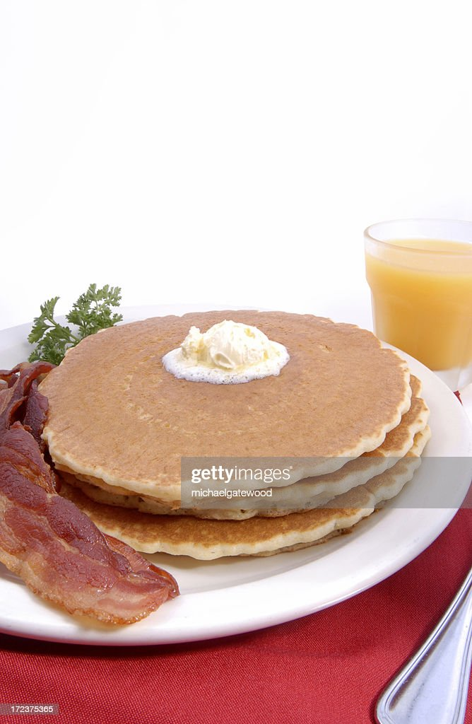 pancake vertical : Stock Photo