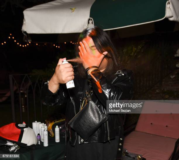 Panda Bear performs at Millie Brown's Rainbow Bodied Cocktail Event at the Private Residence of Jonas Tahlin CEO Absolut Elyx on May 4 2017 in Los...