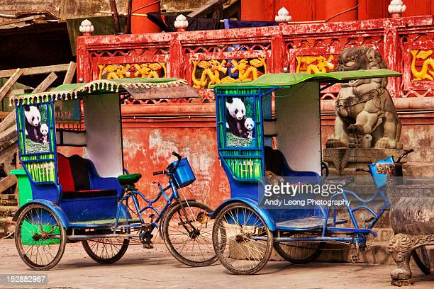 Panda pedicabs