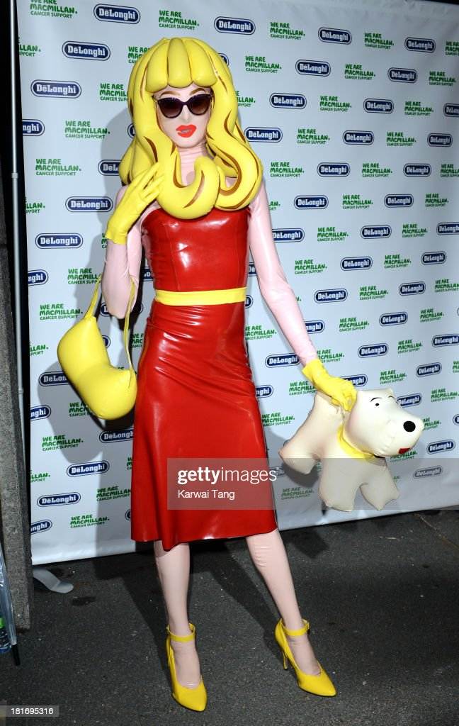 Pandamonia attends the Macmillan De'Longhi Art auction 2013 at Royal Academy of Arts on September 23, 2013 in London, England.