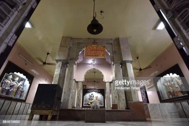 Pandavala Temple commonly known as Baba Prakash Puri Ashram near Gurgaon Railway Station on May 11 2017 in Gurgaon India