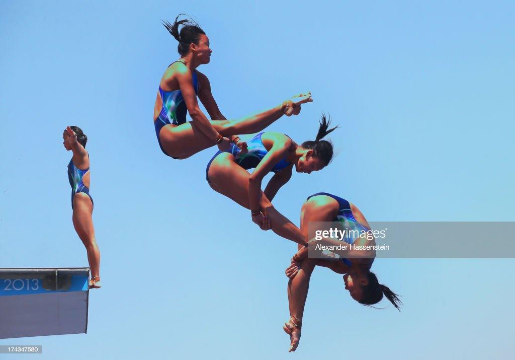 pandelela rinong Kuala lumpur – penerjun negara yang juga olahragawati kebangsaan 2017, cheong jun hoong dan pandelela rinong pamg meraih pingat gangsa pada pusingan kedua kejohanan terjun siri dunia fina di.