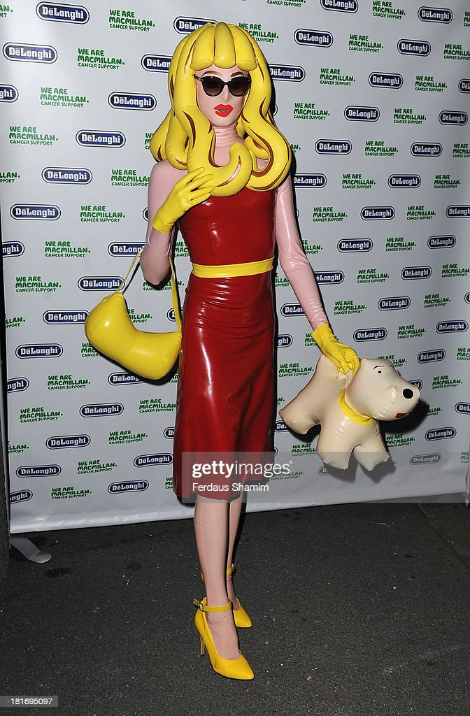 Pandemonia attends the Macmillan De'Longhi Art auction 2013 at Royal Academy of Arts on September 23, 2013 in London, England.