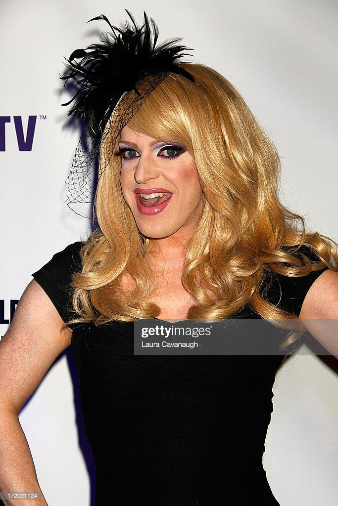<a gi-track='captionPersonalityLinkClicked' href=/galleries/search?phrase=Pandora+Boxx&family=editorial&specificpeople=6915495 ng-click='$event.stopPropagation()'>Pandora Boxx</a> attends Logo TV's Official Pride NYC 2013 Event at Highline Ballroom on June 30, 2013 in New York City.