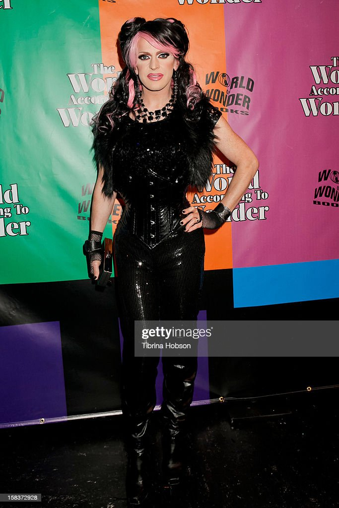 Pandora Boxx attends the 'World Of Wonder' book release party at Universal Studios Backlot on December 13, 2012 in Universal City, California.