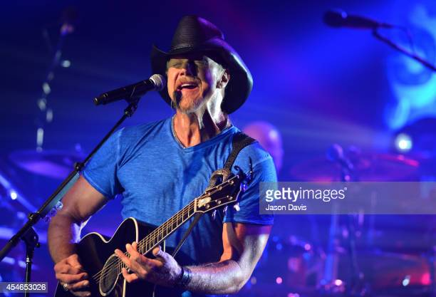 Pandora presents Trace Adkins performing sponsored by Marathon at Marathon Music Works on September 4 2014 in Nashville Tennessee