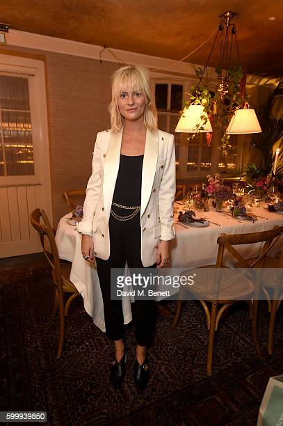 Pandora Sykes attends a cocktail reception hosted by RACIL and MATCHESFASHIONCOM to celebrate the launch of Racil AW16 Collection on September 7 2016...