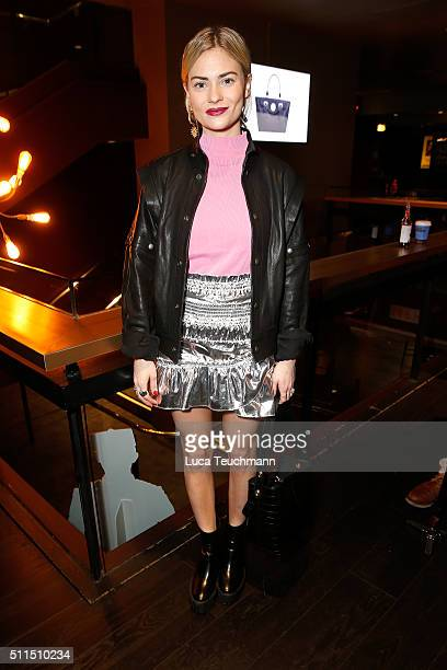 Pandora Sykes attends the Hill Friends Presentation show during London Fashion Week Autumn/Winter 2016/17 at on February 21 2016 in London England
