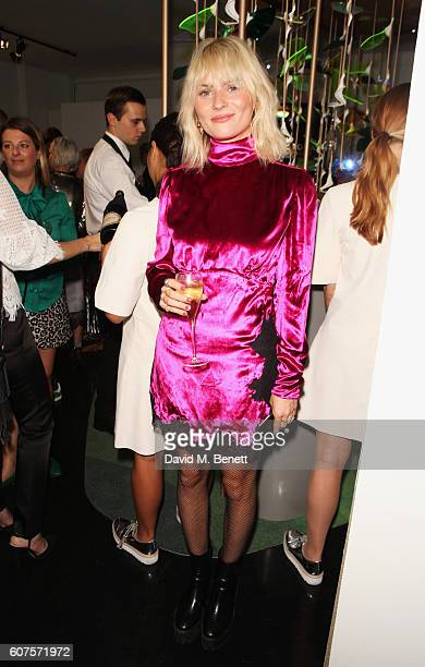 Pandora Sykes attends the Sunday Times Styles Fashion Special party during London Fashion Week Spring/Summer collections 2017 at L'Eden by...
