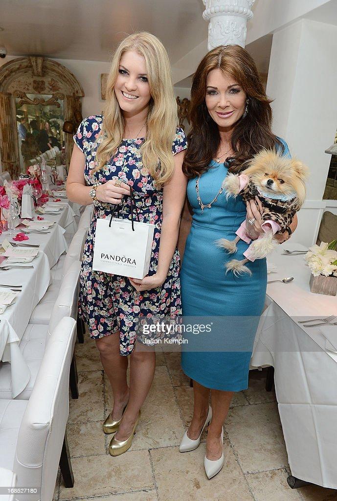 Pandora Vanderpump and Lisa Vanderpump attend the PANDORA jewelry Mothers Day celebration with the Vanderpumps on May 6, 2013 in Beverly Hills, California.