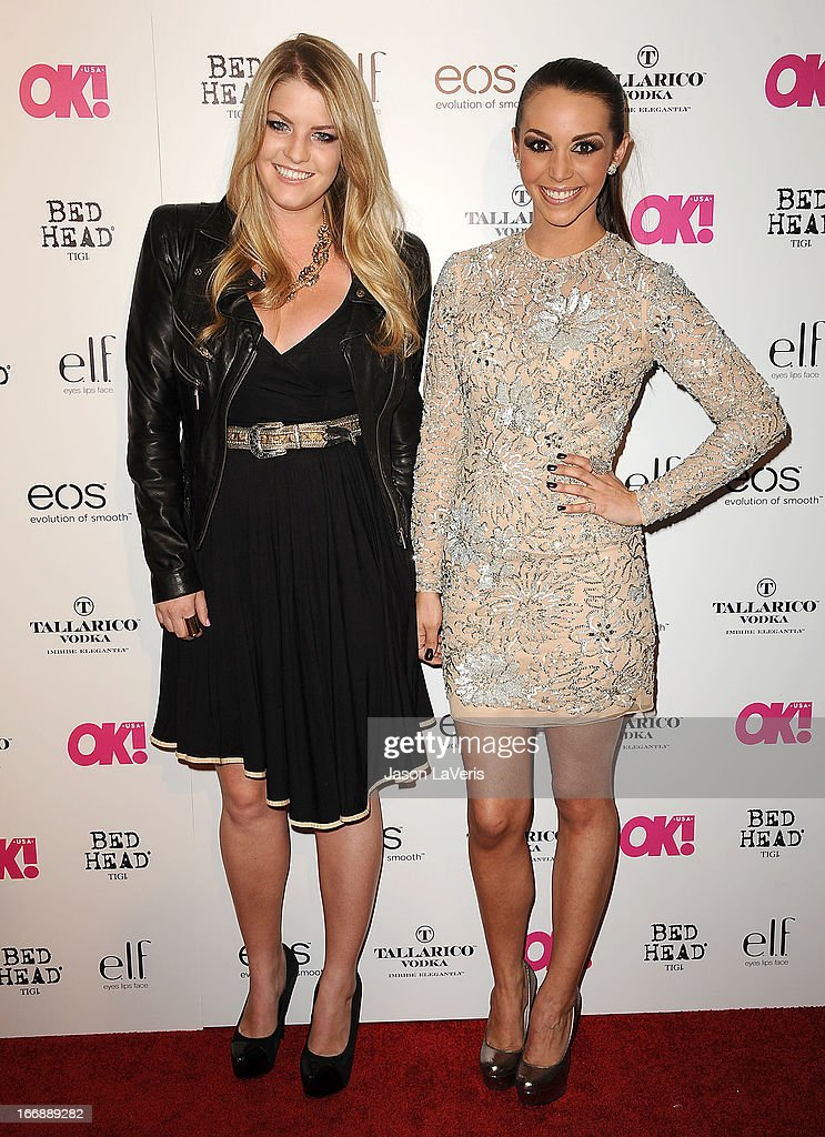 Pandora Vanderpump and Scheana Marie attend OK! Magazine's annual 'So Sexy' party at SkyBar at the Mondrian Los Angeles on April 17, 2013 in West Hollywood, California.