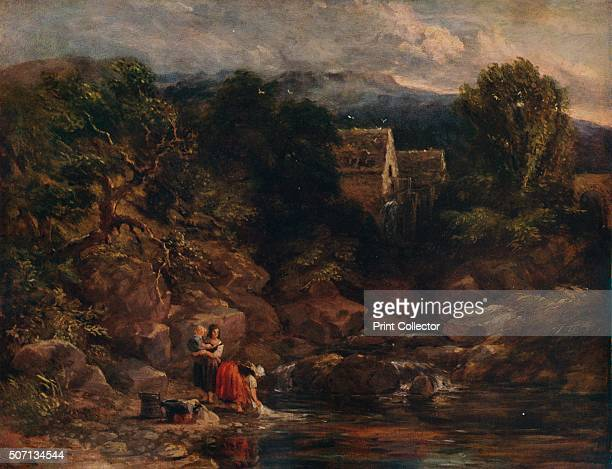 Pandy Mill' 1843 Painting held at the Laing Art Gallery Newcastle upon Tyne From A Catalogue of the Pictures and Drawings in the collection of...