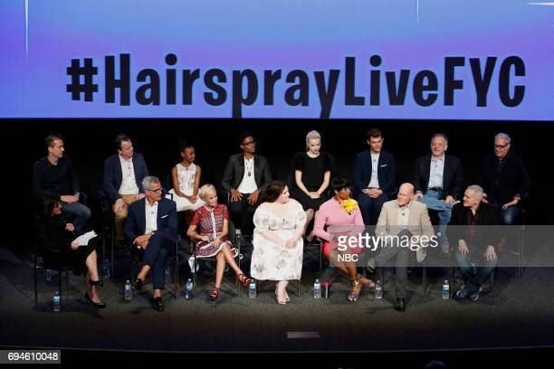 LIVE 'FYC Panel Discussion and Reception' Pictured Back Row Ale Rudzinksi Live Television Director Derek McLane Production Designer Shahadi Wright...