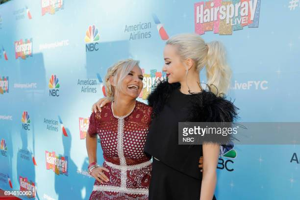 LIVE 'FYC Panel Discussion and Reception' Pictured Kristin Chenoweth Dove Cameron at the Saban Media Center at the Television Academy North Hollywood...