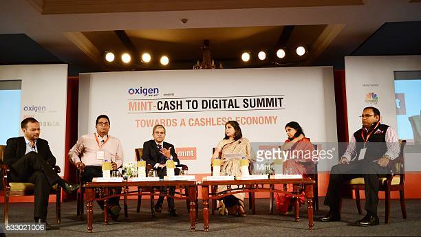 A panel discussion on Disrution In Banking Traditional Payment Banks included Satyen V Kothari Managing Director And Founder of Citrus Payment...