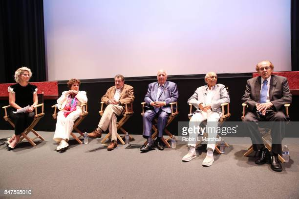 Panel Host and Actress Jenna Elfman attends Northridge's Dedication of the Hollywood Foreign Press Association Wing at California State University...
