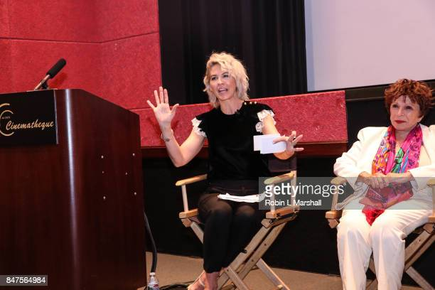 Panel Host and CSUN Aluma Jenna Elfman at Northridge's Dedication of the Hollywood Foreign Press Association Wing at California State University...