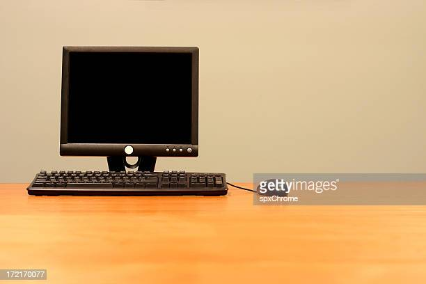 LCD Panel, Mouse and Keyboard