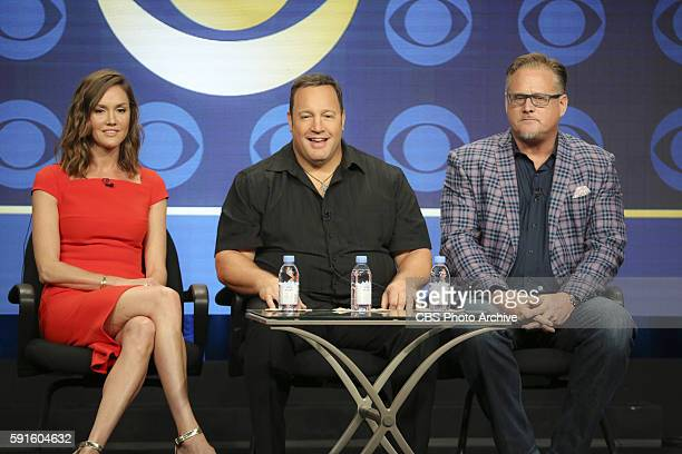 Panel session for the new CBS show KEVIN CAN WAIT at the TCA presentations at the Beverly Hilton Hotel in Los Angeles August 10 2016 Pictured Erinn...
