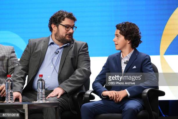 Panel session for the new CBS show ME MYSELF I at the TCA presentations at the Beverly Hilton Hotel in Los Angeles August 1 2017 Pictured Bobby...