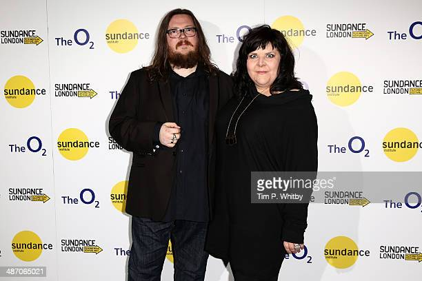 Panellists Iain Forsyth and Jane Pollard attend the 'Hybrid Vigour When Music Art Doc Collide' Panel Event during the Sundance London Film and Music...