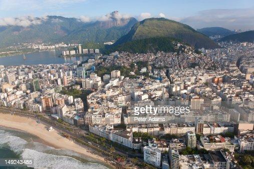 Panema Beach, Ipanema, Rio de Janeiro, Brazil : Stock Photo
