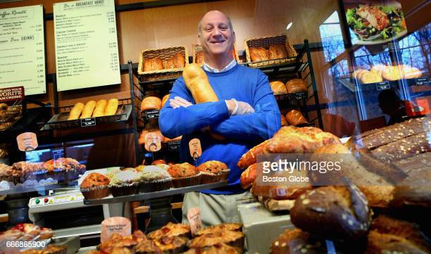 Panera Bread founder Ron Shaich poses for a portrait in his Needham MA bakery on Feb 10 2010