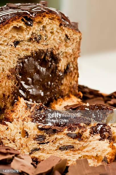 Panetone with trufa de chocolate