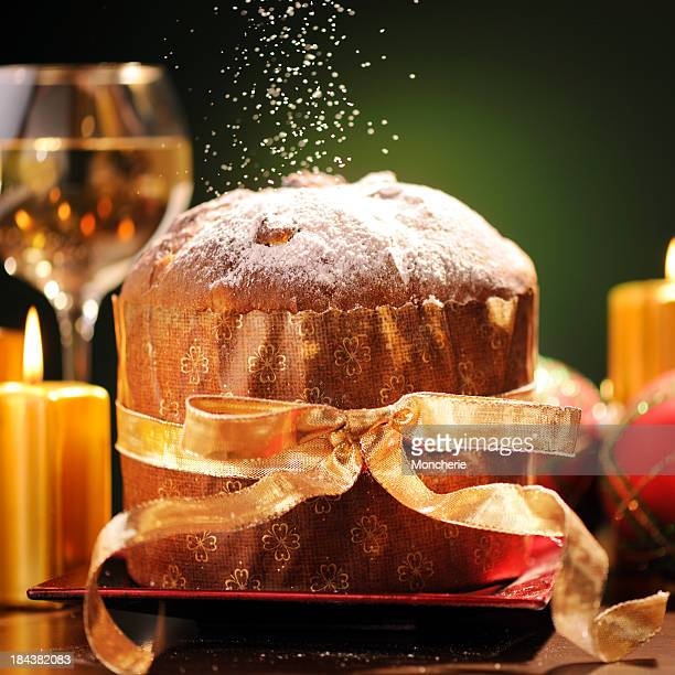Panettone in christmas time