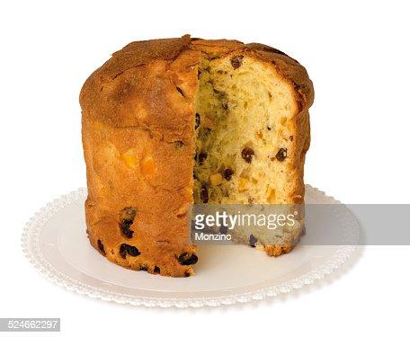 Panettone is a traditional italian christmas cake