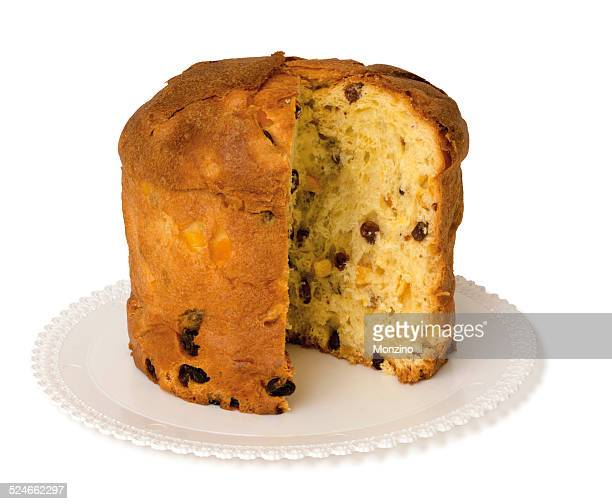 Panettone is a traditional italian christmas cake